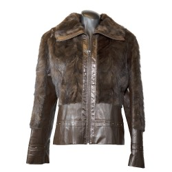 jackets fur-leather